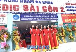 Lễ Khánh Thành Phòng Khám MeDic Sai Gòn 2